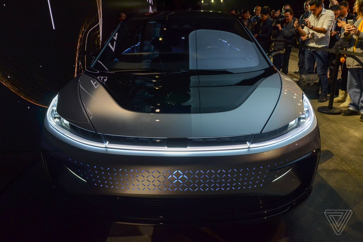 At This Year S Ces Troubled Electric Car Startup Faraday Future Presented Itself As The Company That Would Usher In Next Generation Of Sustainable