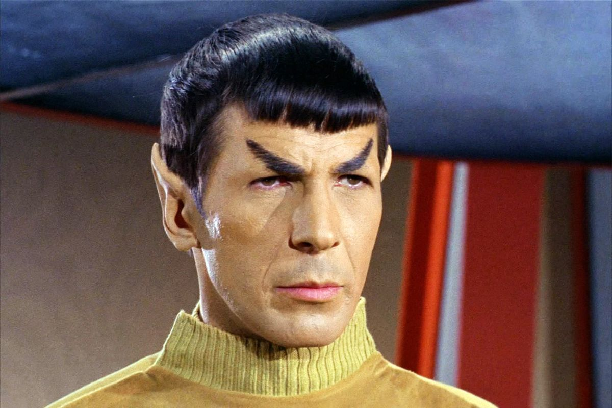 Leonard Nimoy as Spock in Star Trek: The Original Series