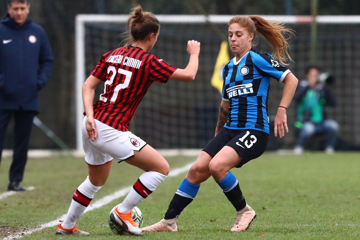 Anteprima The Ac Milan Women Vs Inter Milan In The Derby Della Madonnina The Ac Milan Offside