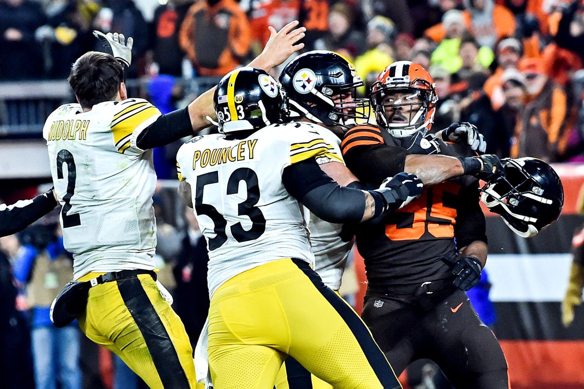 Mason Rudolph Breaks Silence Regarding Steelers Vs Browns