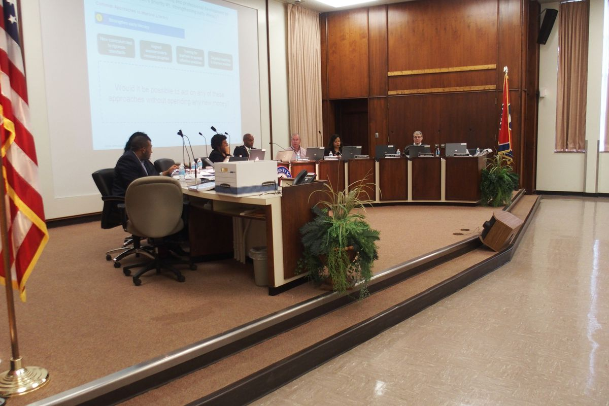 The board of Shelby County Schools begins its 2015-16 budget review Wednesday with district administrators in Memphis. They must work together during the next month to address a $125 million deficit.