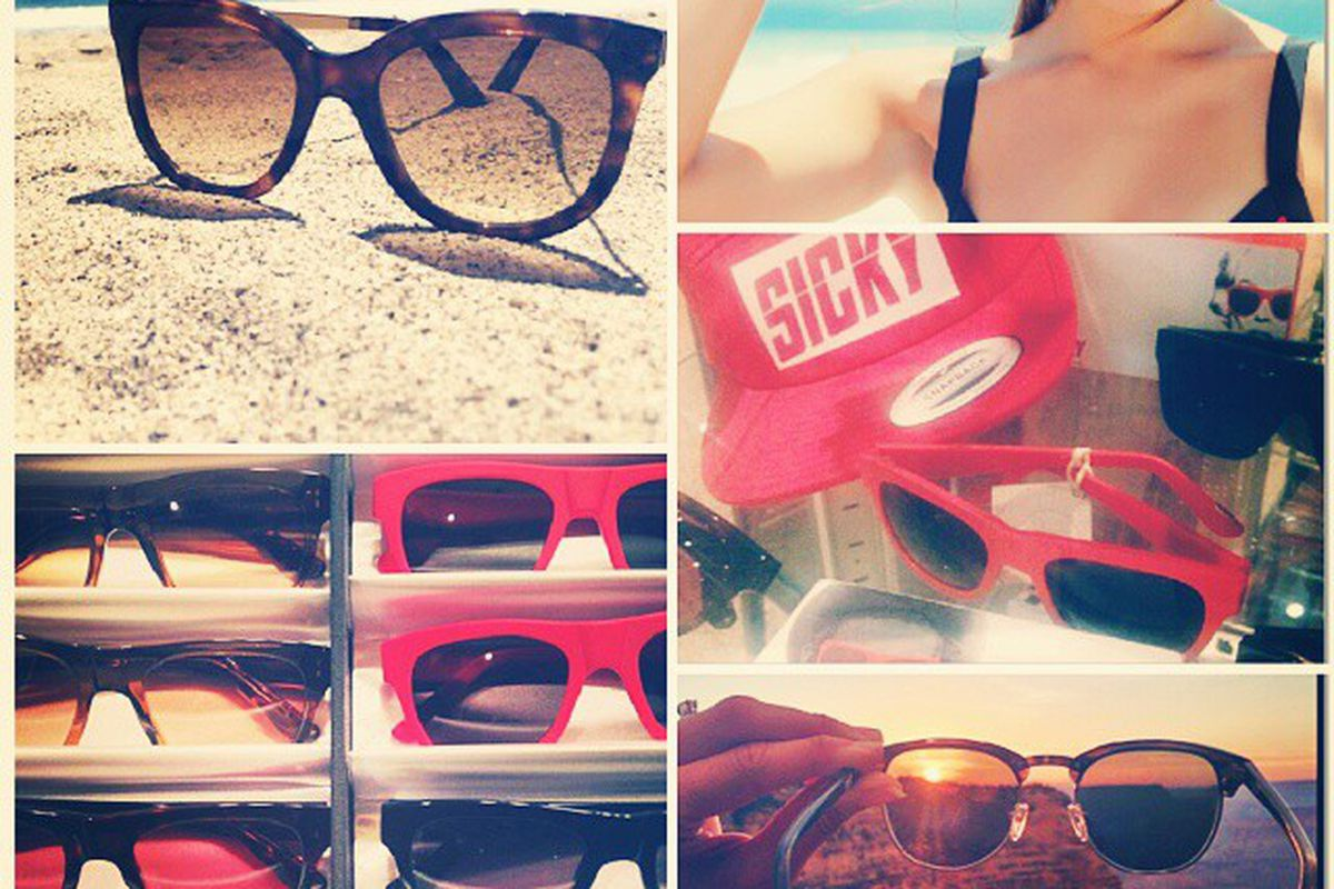 """Sicky Sunglasses are among the thousands of items you can buy on Higgle. Image via <a href=""""https://www.higgle.com"""">Higgle</a>."""