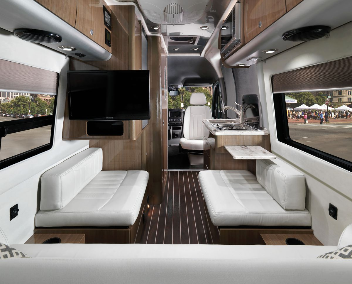 Mercedes Sprinter Van >> Airstream Interstate Nineteen: A new compact luxury camper ...
