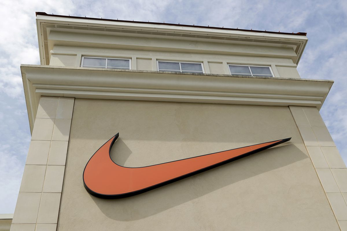 This new Nike Air Max shoe logo was just called 'offensive