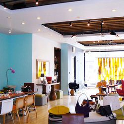 """The people at <a href=""""https://morlensinoway.com/"""">Morlen Sinoway</a> [1052 West Fulton Market] are awesome. I love stopping in to check out what's new.  They have a unique collection of furniture, art, and jewelry—there is always something fabulous that'"""