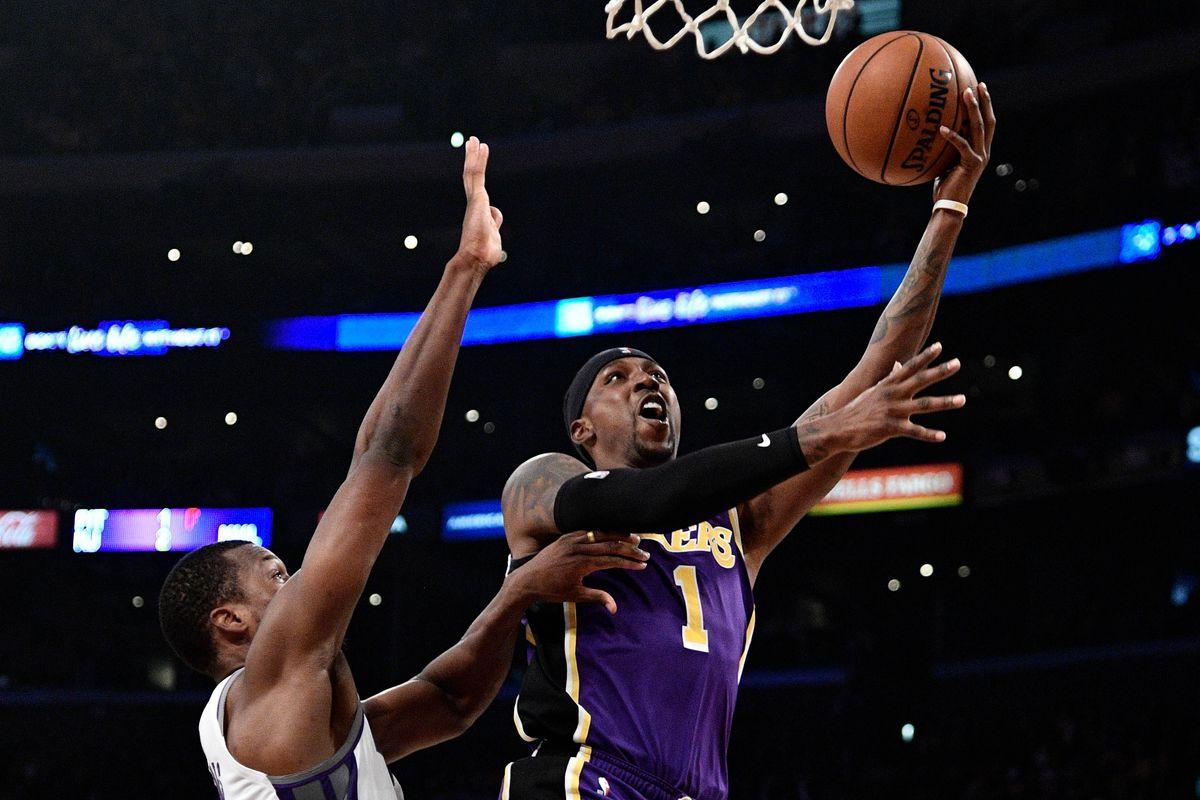 NBA: Sacramento Kings at Los Angeles Lakers