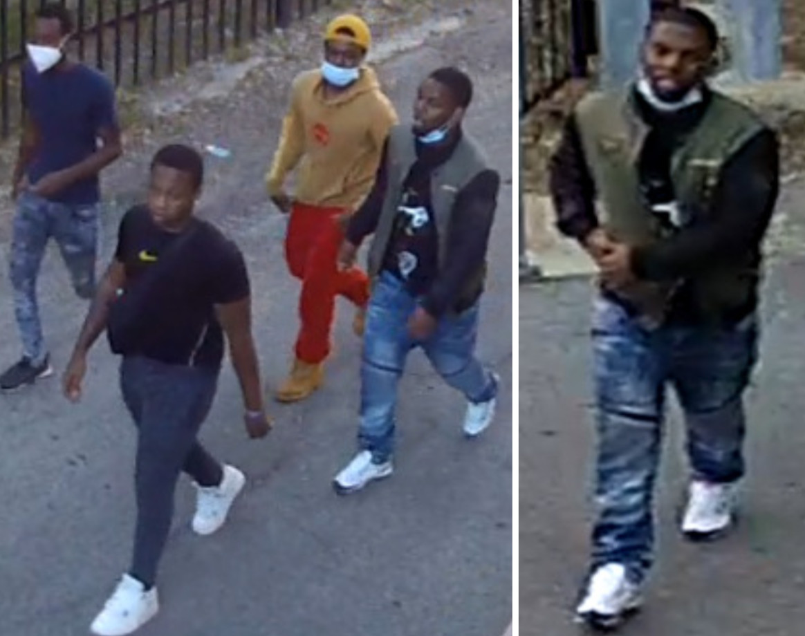 Police released surveillance photos of four persons of interest in a shooting June 16, 2020, in the 1500 block of West Fillmore Street.