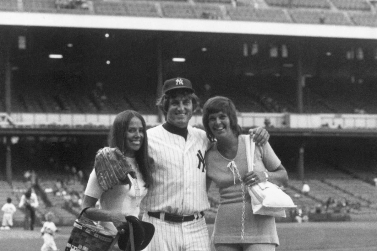 Fritz Peterson with Wife Marilyn and Susan Kekich
