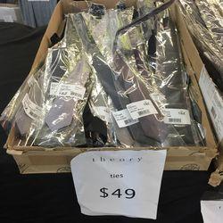 Ties, $49