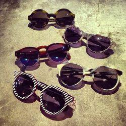 "<a href=""http://instagram.com/dagnyandbarstow"">@dagnyandbarstow</a>: ""@illesteva. Nuff said. So pumped about our new shades"""