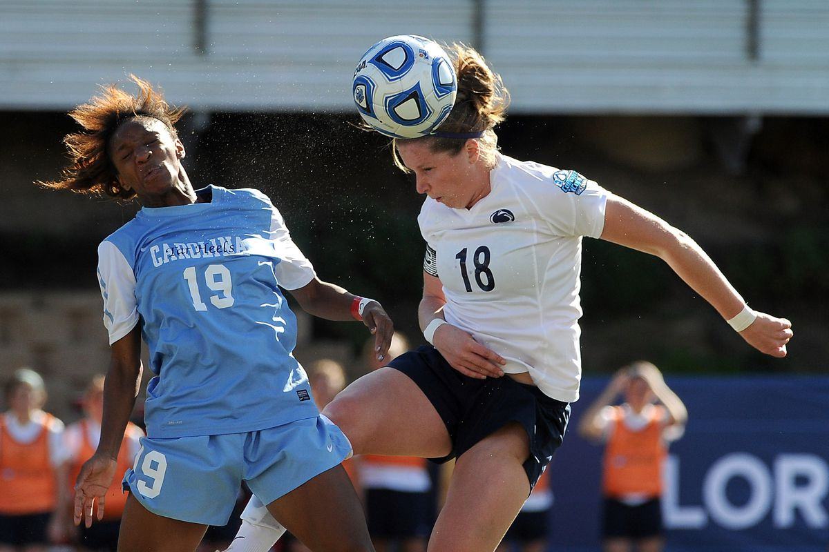 Breakers midfielder Maddy Evans, now coaching with MIT, graduated from Penn State University in 2012