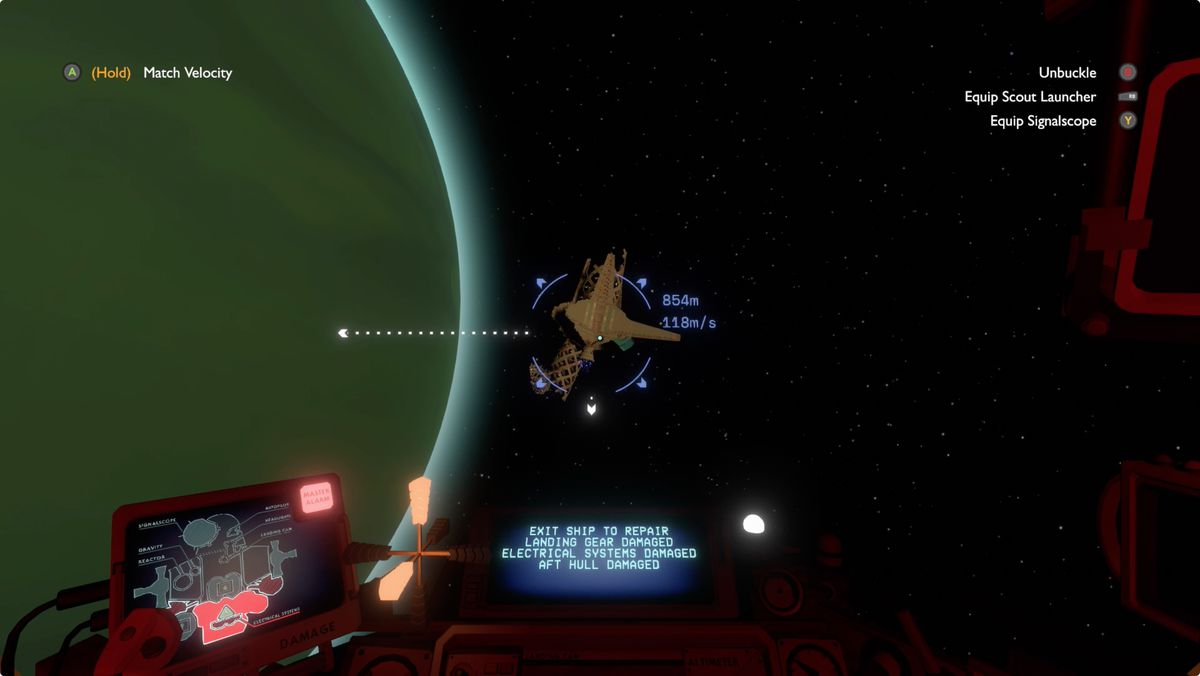 Outer Wilds Giant's Deep Orbital Probe Cannon