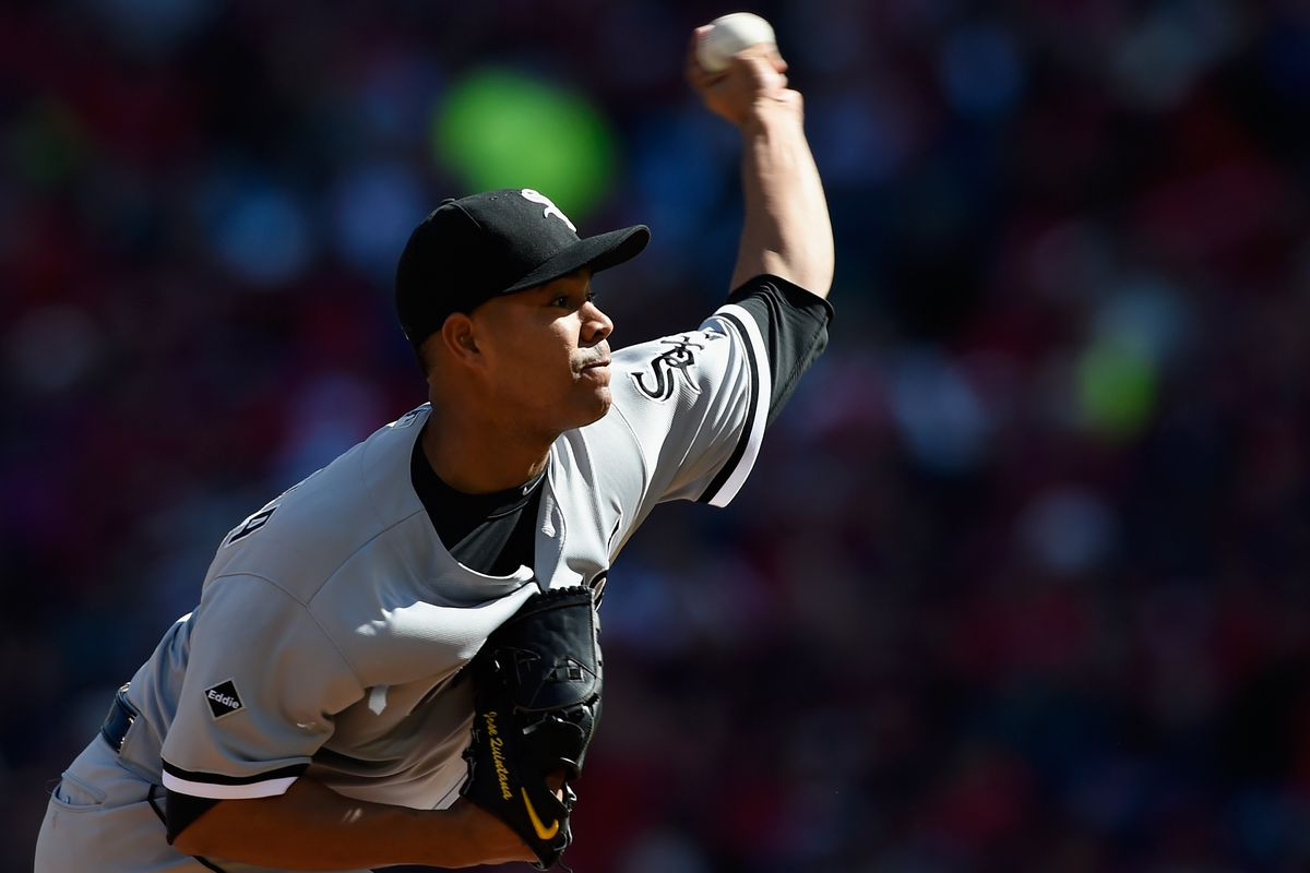 Jose Quintana earns his first win of 2016.