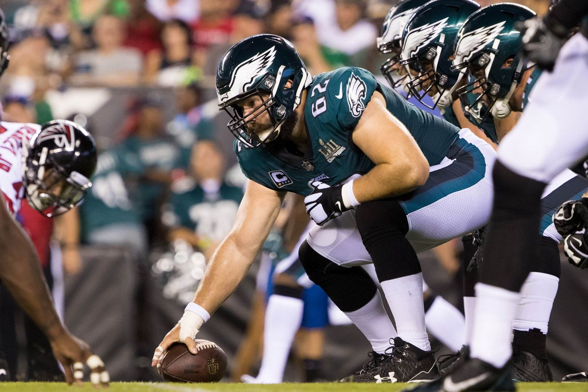 71164f70313 Eagles News: Philadelphia has three of the NFL's top 22 ranked offensive  linemen