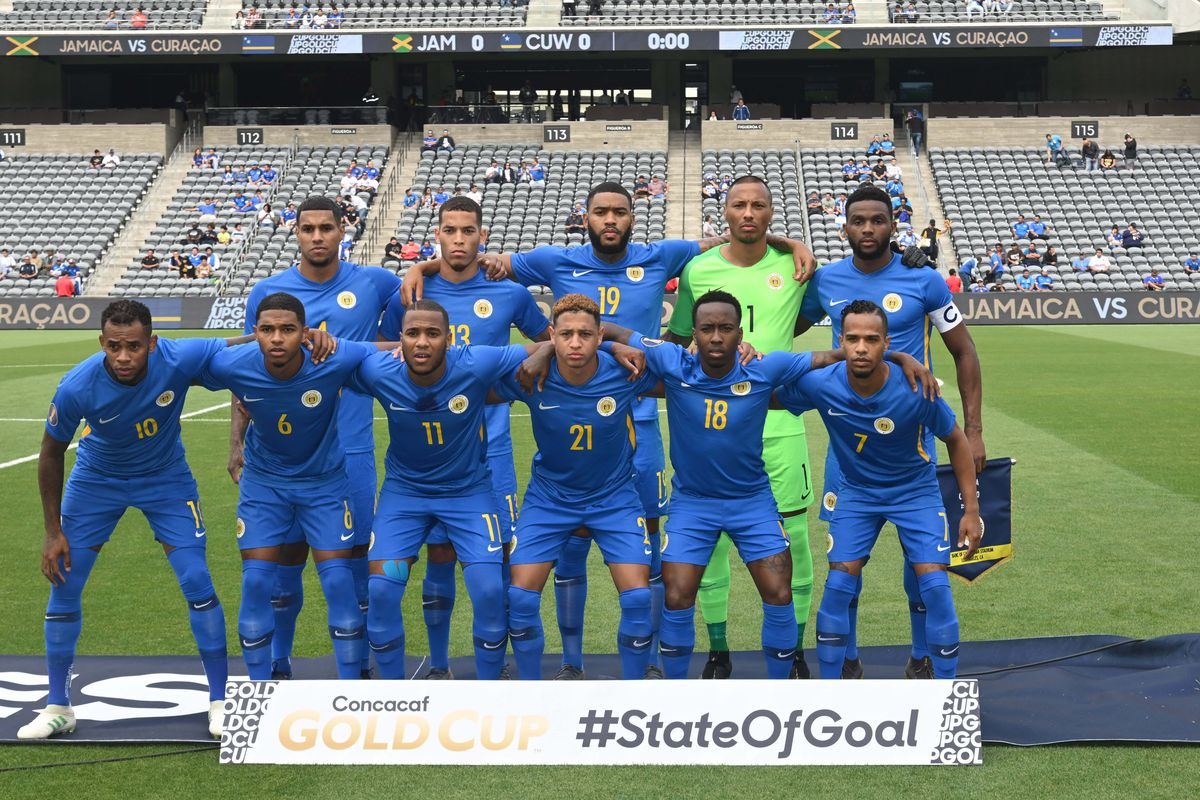 Soccer: CONCACAF Gold Cup-Jamaica at Curacao