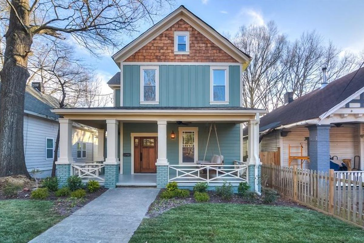 A photo of a renovated home for sale in Atlanta's Capitol View neighborhood.