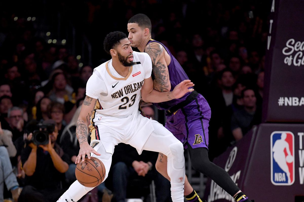 Anthony Davis thinks Kyle Kuzma is 'an unbelievable player,' is 'very excited about playing alongside him' wi…