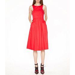 """Red Midi Dress, <a href=""""http://www.pixiemarket.com/dresses/my-fair-lady-dress.html"""">$99</a> at Pixie Market"""