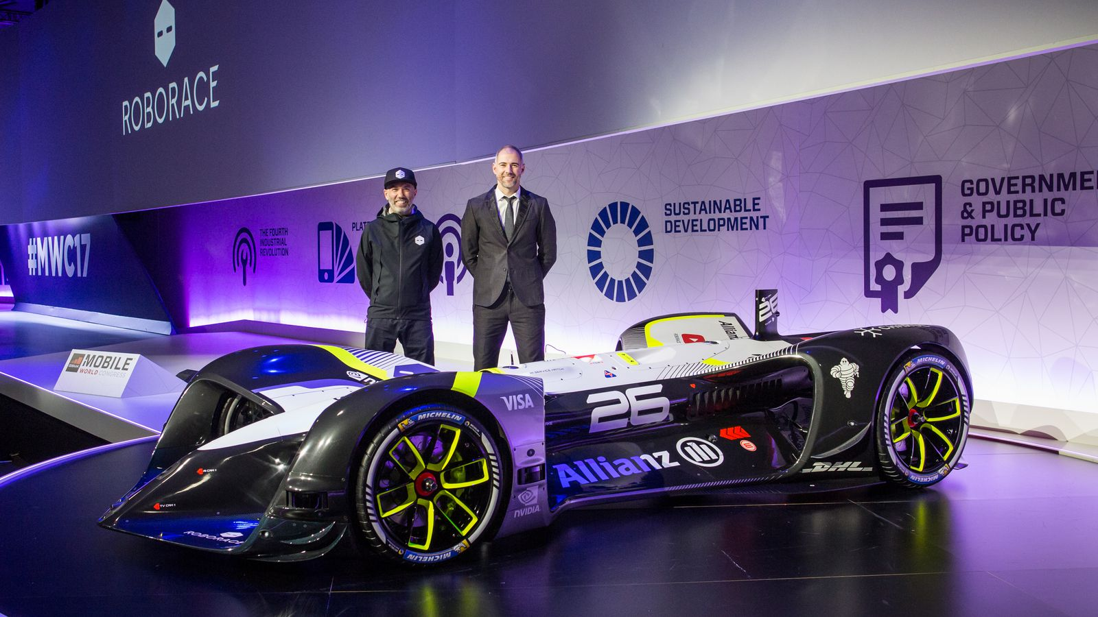 roborace finally reveals its self driving racecar the verge