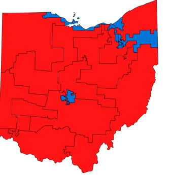 Ohio gerrymander