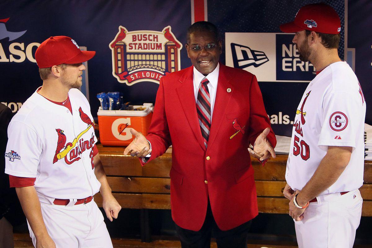 St. Louis Cardinals Hall of Famer Bob Gibson