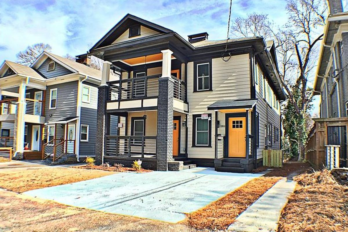 A photo of a duplex for sale in Old Fourth Ward.