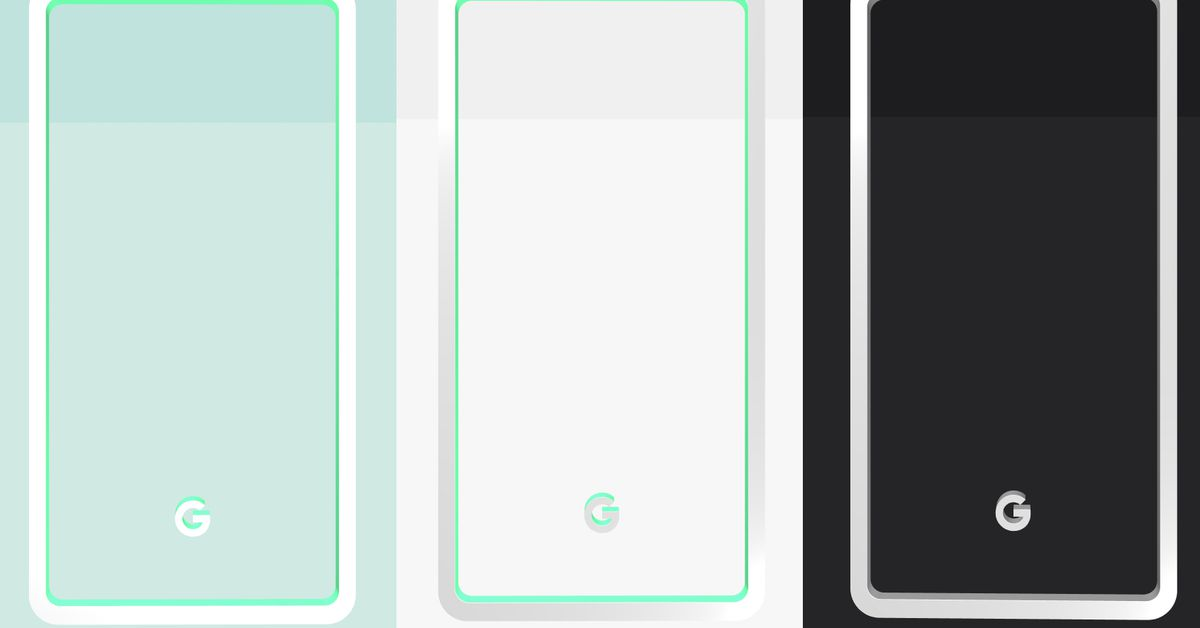 Google reveals Pixel 3 colors: mint, white, and black