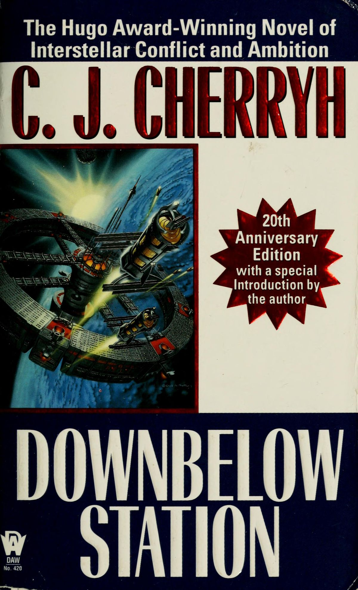 Downbelow Station by C.J. Cherryh book cover