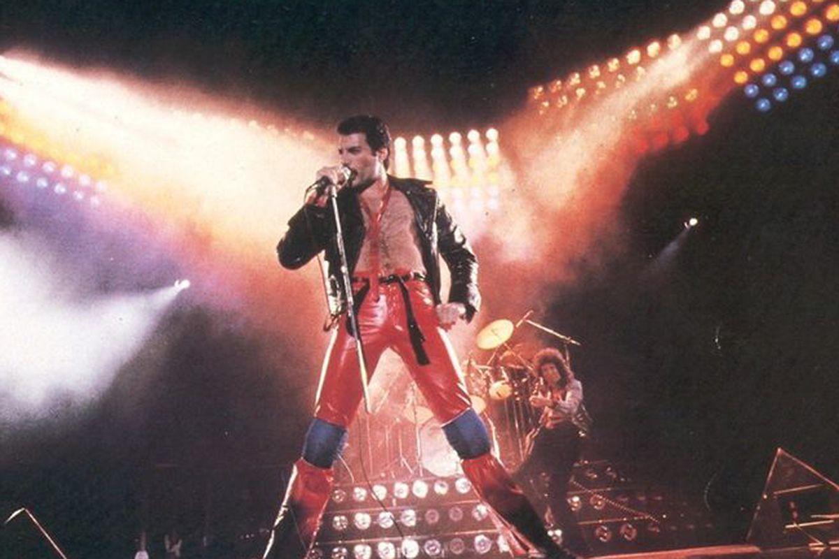 Late Queen frontman Freddie Mercury.