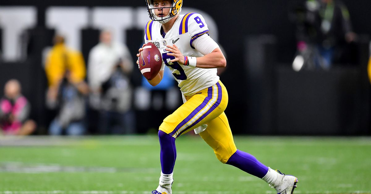 "Bengals in the ""process of evaluating"" superstar LSU quarterback Joe Burrow"