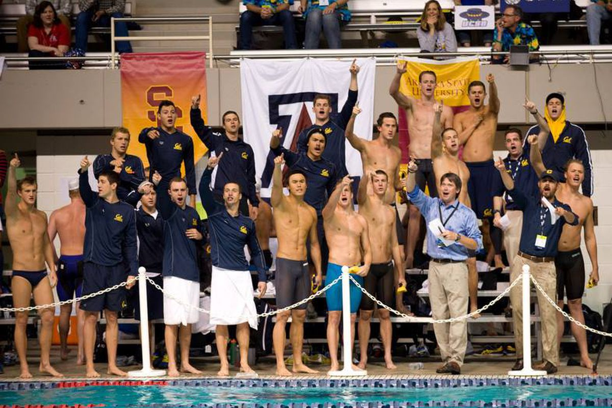 The Golden Bears have been very good at posting season best times so far in this NCAA Championships.