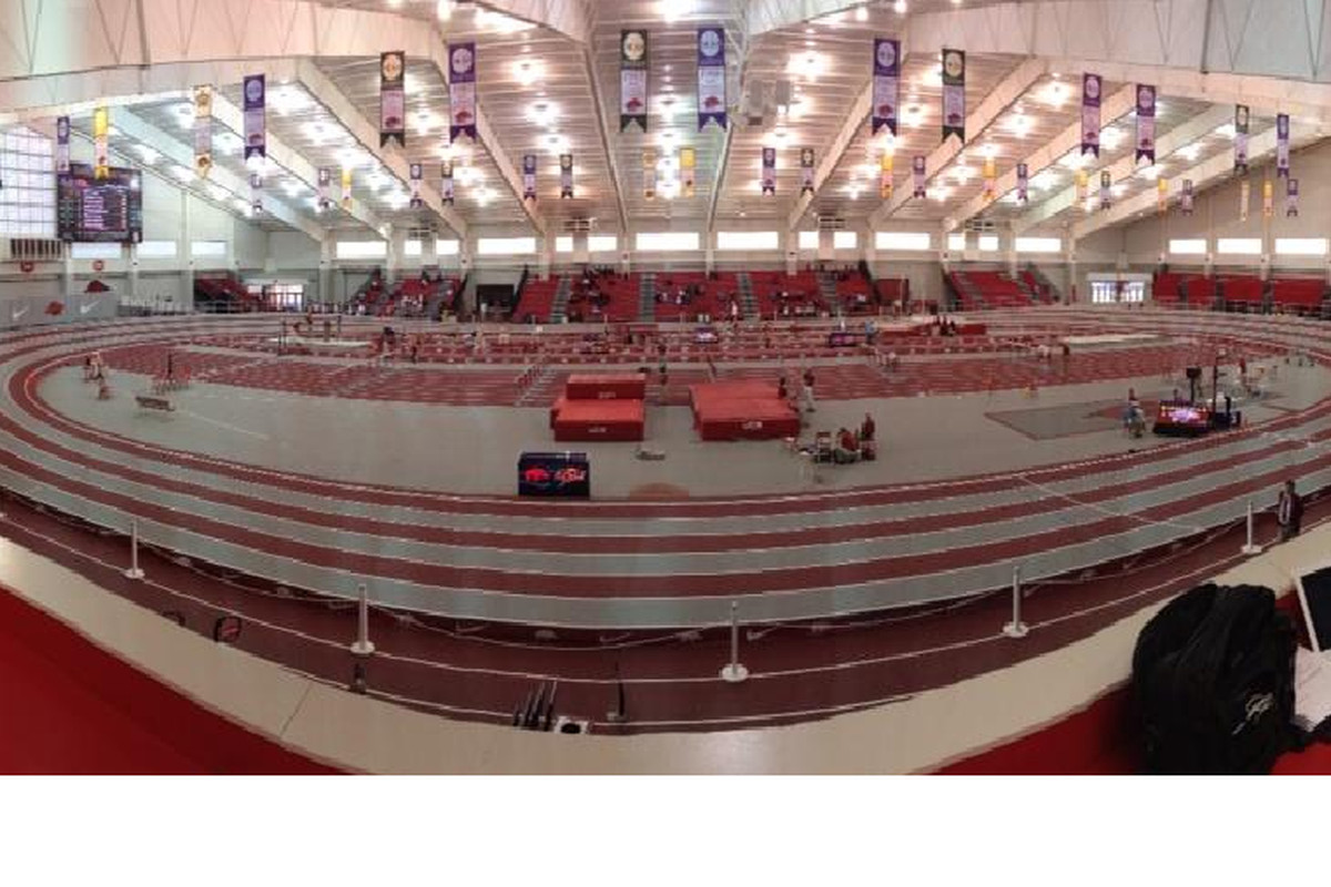 A look inside the Randal Tyson Track Center