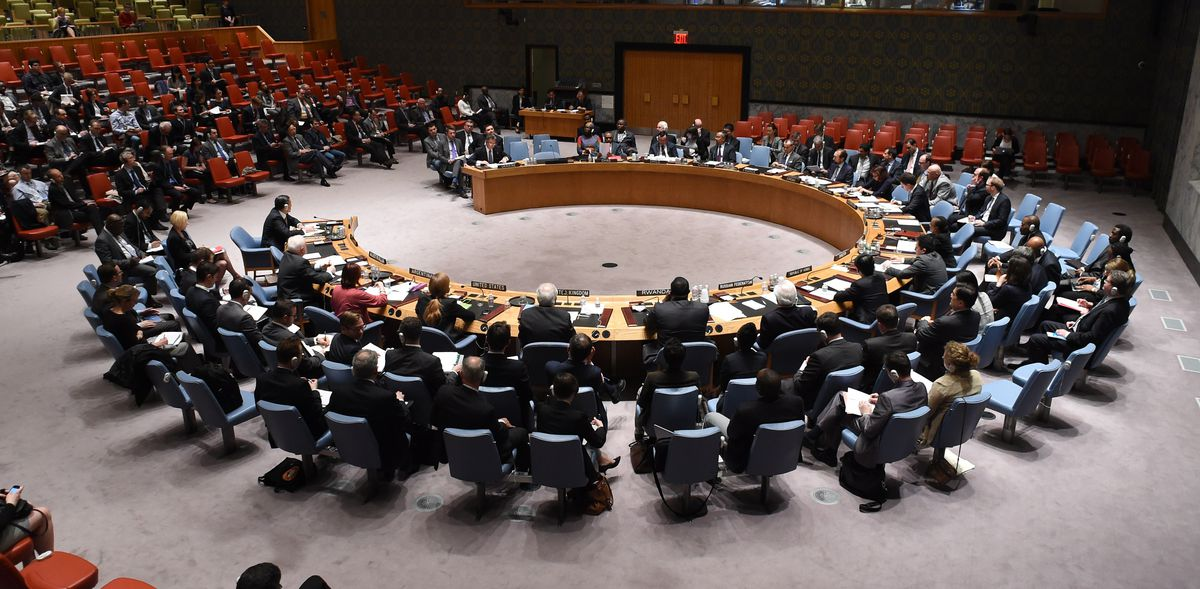 The United Nations Security Council (DON EMMERT/AFP/Getty)