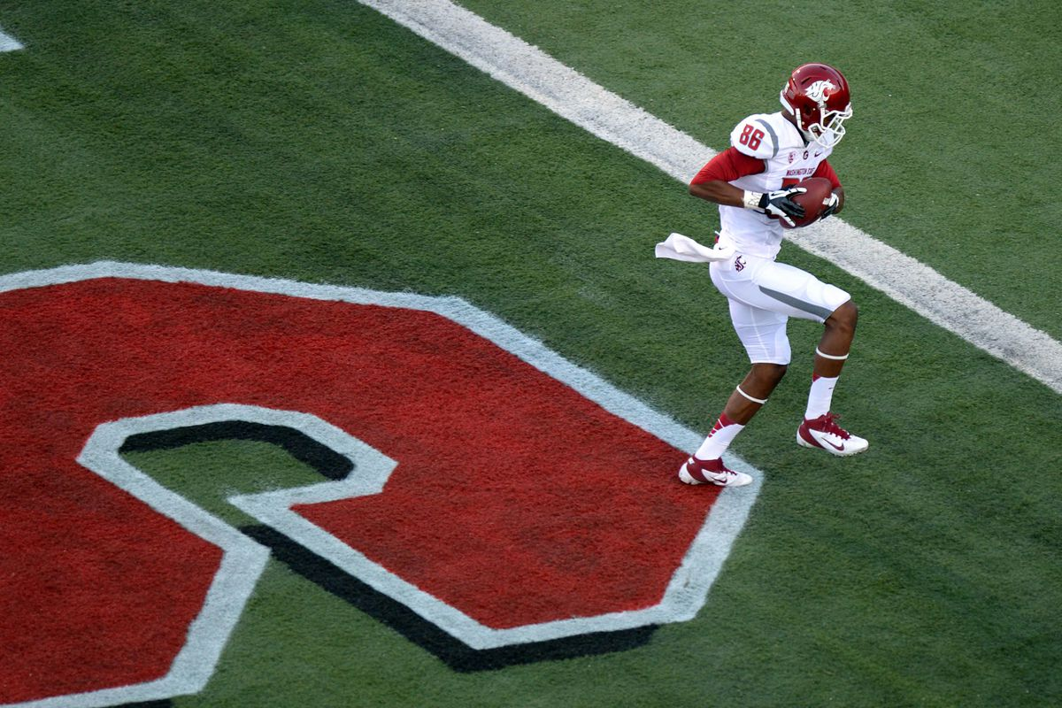 Marquess Wilson scored two touchdowns in the Cougar victory on Friday night.