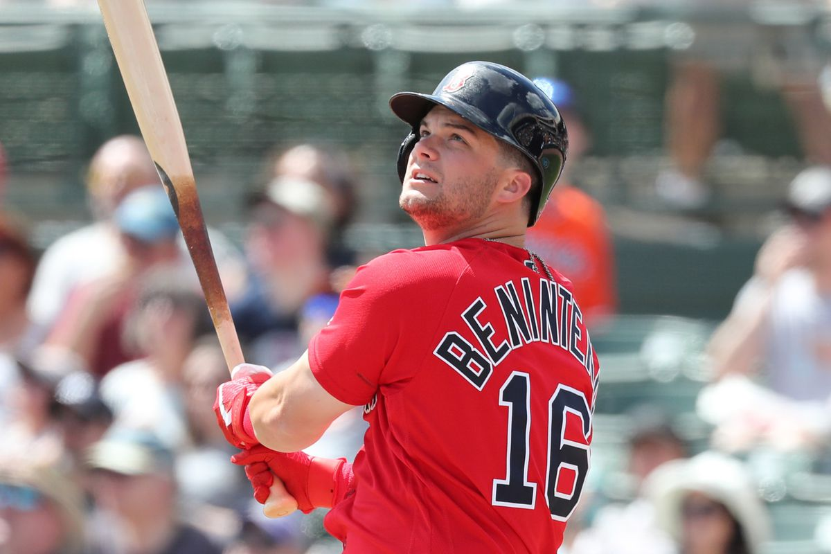 Red Sox Twins Spring Training: Andrew  Benintendi sets the tone early - Over  the Monster