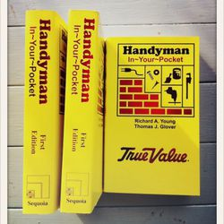 Handyman In Your Pocket reference book  // $13