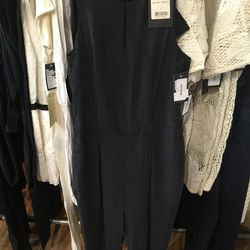 Rag & Bone Adeline jumpsuit with leather detail, $178.50 (from $595)
