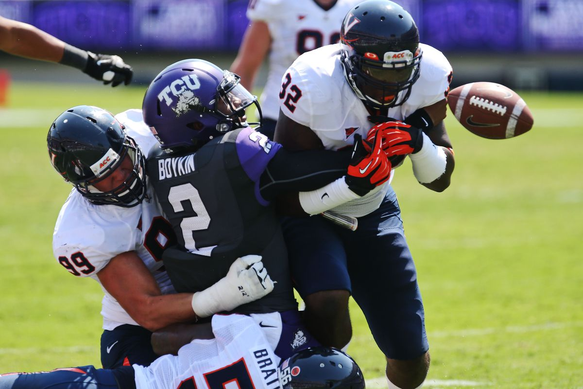 TCU's Trevone Boykin has been known to turn the ball over in his time as the Horned Frogs quarterback.