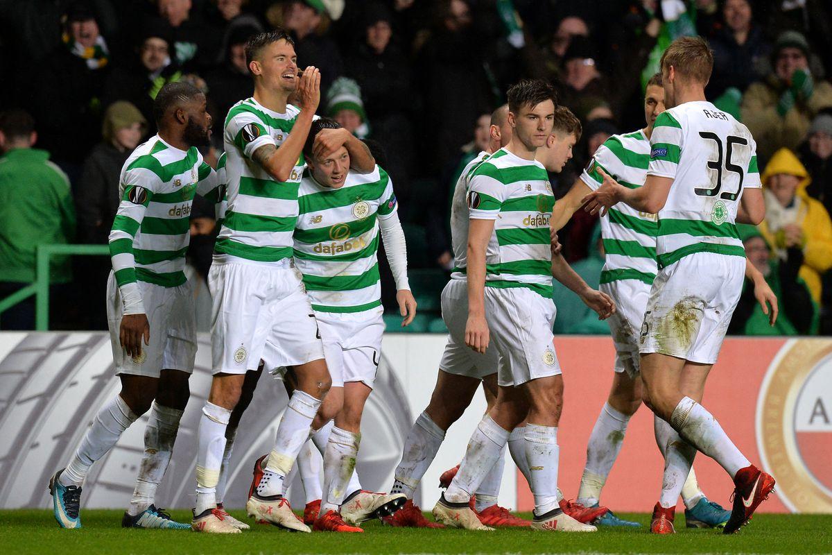 Celtic v Zenit St Petersburg - UEFA Europa League