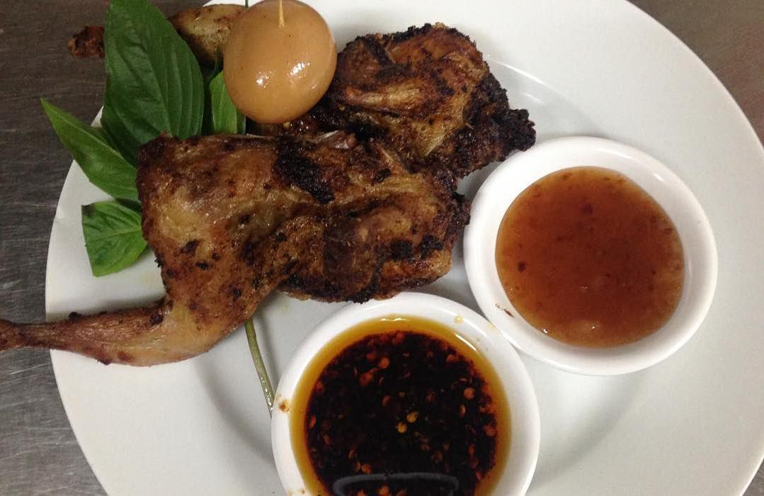 Crispy quail at Singburi, Leyton, one of east London's best snacks