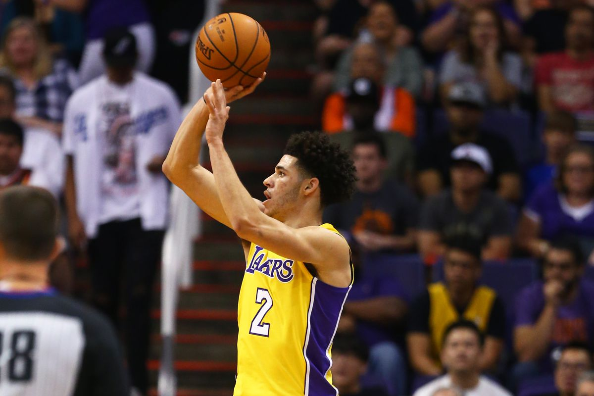 Magic Johnson says Lakers won t mess with Lonzo Ball s shot