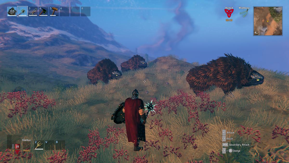 Valheim plains biome lox