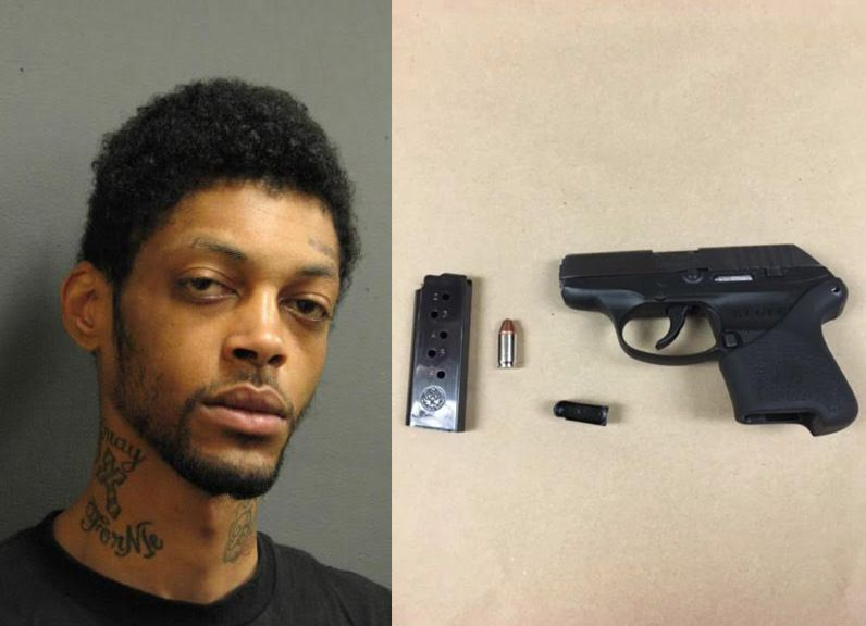 Kevin MJ Logan was charged with unlawful use of a weapon after a traffic stop Friday night in Evanston.   Evanston police