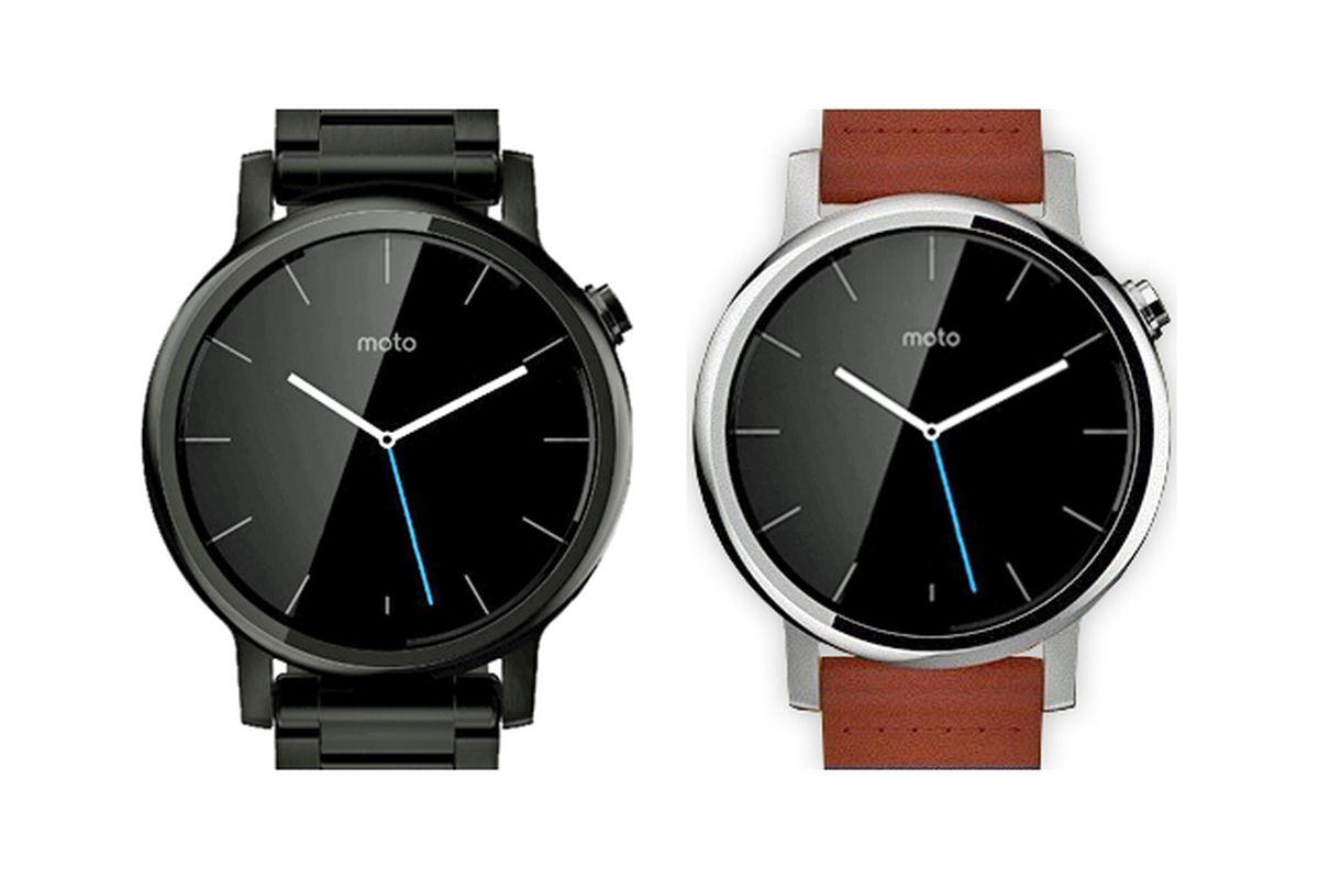 Check out these slick new Moto 360 renders