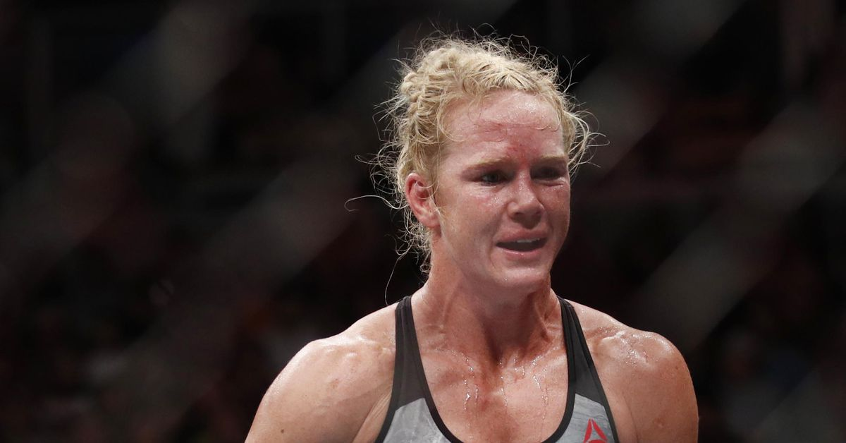 Manager explains why Holly Holm is no longer fighting Aspen Ladd at