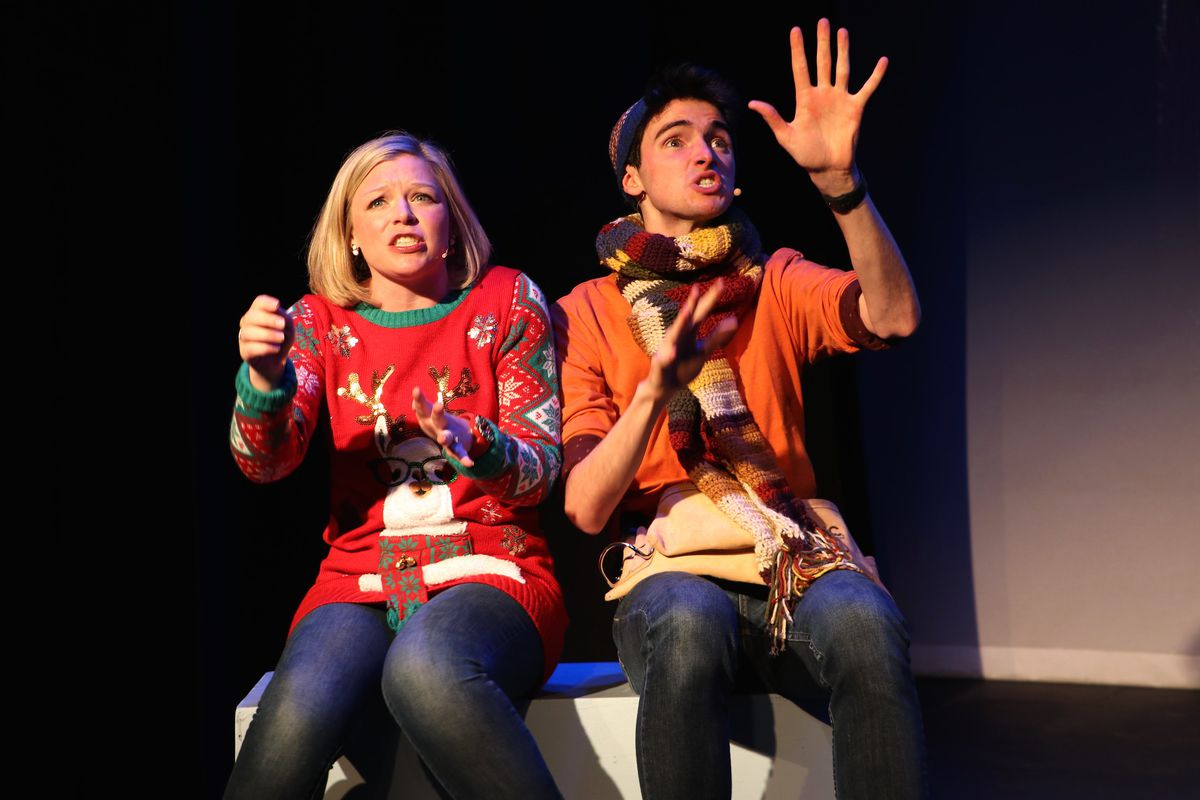 """Mary-Margaret Roberts and Quinn Kelch in """"The Land of Forgotten Toys."""""""