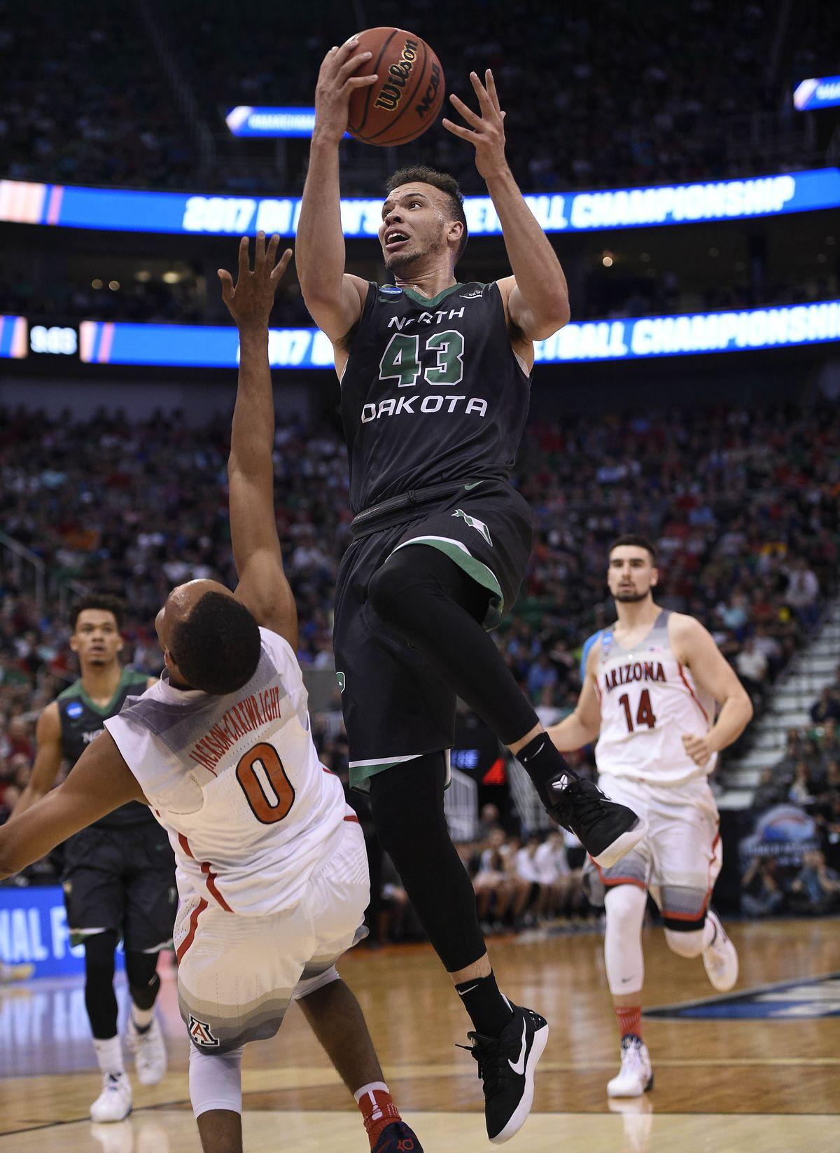 NCAA Basketball: NCAA Tournament-First Round-Arizona vs North Dakota