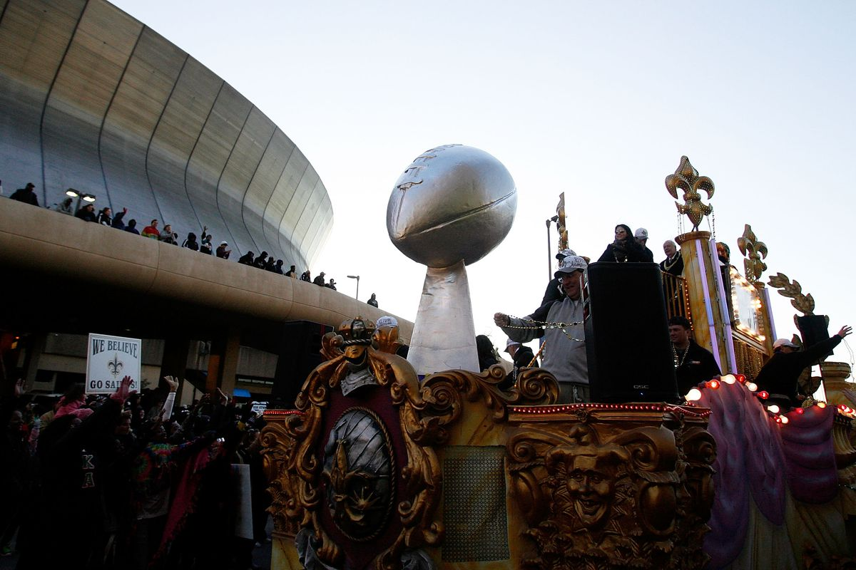 New Orleans Saints Parade