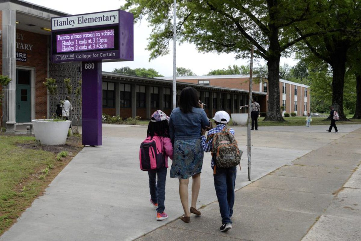 Aspire's Hanley Elementary is located in Orange Mound, a historic black community in Memphis.