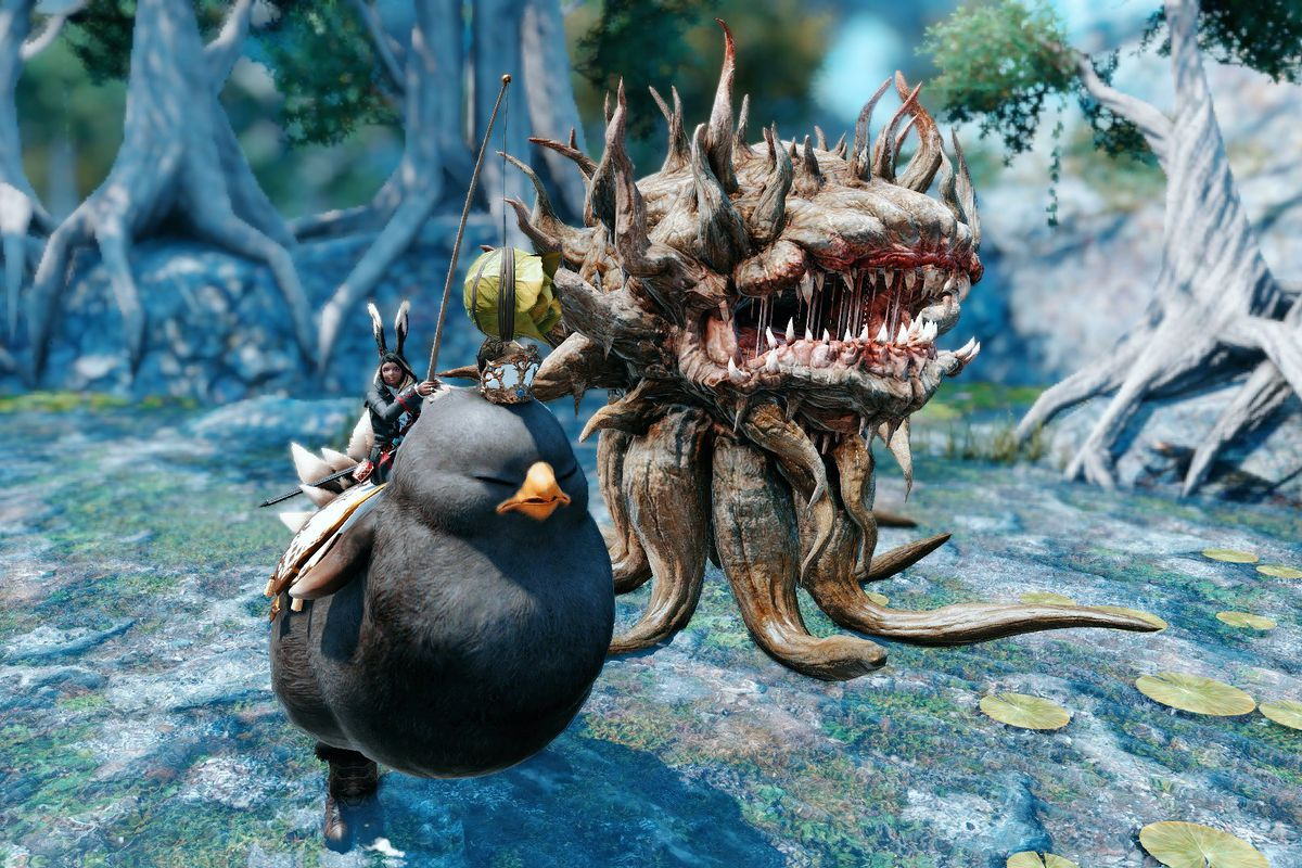 Chinese Final Fantasy 14 players are turning KFC into a new quest